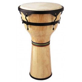 Djembe Stagg en bois naturel