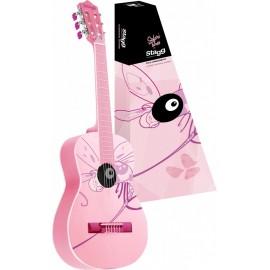 Stagg guitare classique Rose/Libellule