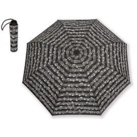 Parapluie partitions Bach noir (pliable)