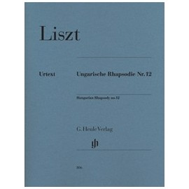 Liszt, Rapsodie Hongrois no. 12
