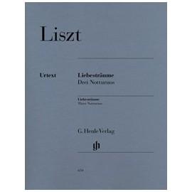 """Liszt, """"Rêves d'amour"""", 3 nocturnes, piano"""