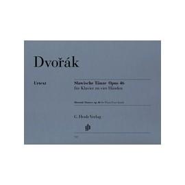 Dvořák, A. Dances Slaves, op. 46 (4 mains)
