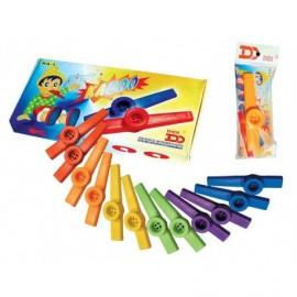 kazoo in verschillende kleuren