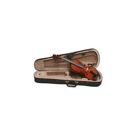 violon trois-quarts avec valise et archet