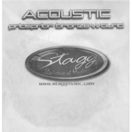 corde séparée guitare acoustique Stagg 0,35mm
