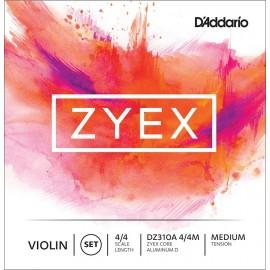 cordes violon D'Addario Zyex 4/4