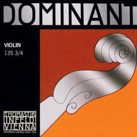 cordes violon Thomastik Dominant medium 3/4