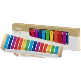 métallophone Stagg 15 touches colorées