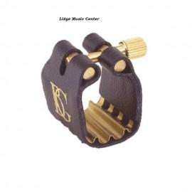 ligature saxophone bariton BG metal Révelation Jazz avec couvre-bec