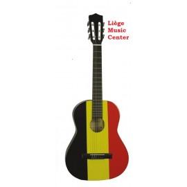 guitare classique Gomez 3/4 drapeau belge