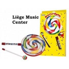 """tambour Remo lollipop 6"""" ,maillet tissu"""