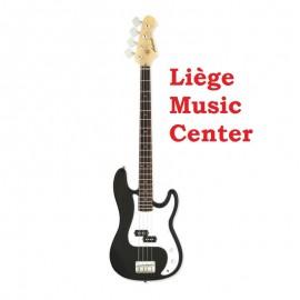 guitare basse électrique Aria noir