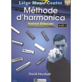 méthode d'harmonica Vol.1 (livre)