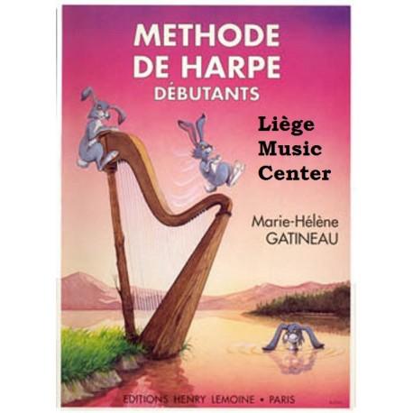 méthode de harpe Gatineau Vol. 1