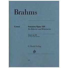 sonates clarinette et piano Brahms opus120