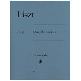 Liszt, Rapsodie Espagnole, Piano