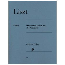 Liszt, Harmonies poétiques et réligieuses, piano