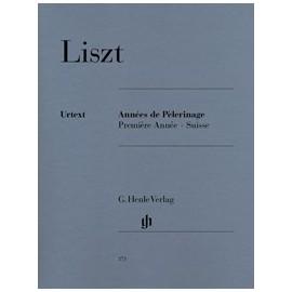 Liszt, Années de Pèlerinage, première Année-Suisse