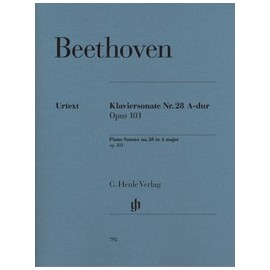 Beethoven, sonate no. 28 en la majeur, op.101