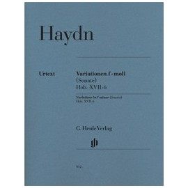 Haydn J. Variations en Fa mineur Hob.XVII:6