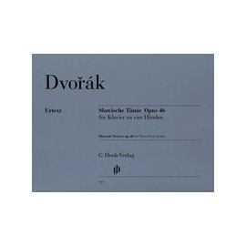 Dvořák, A. Dances Slaves, op. 46 (4 mains)