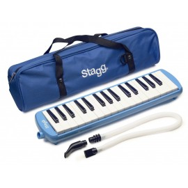 mélodica Stagg 32 notes bleu avec housse