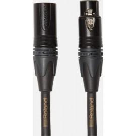 câble microphone Roland gold 3 mètres