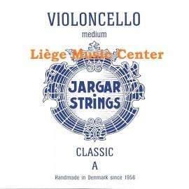 corde violoncelle La Jargar classic bleu medium