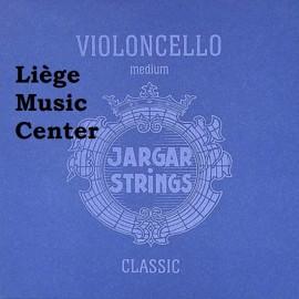cordes violoncelle Jargar classic bleu medium