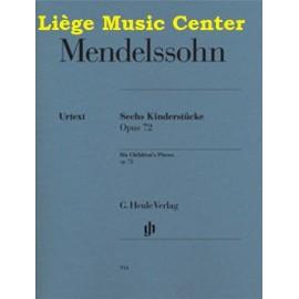 Mendelssohn 6 pièces d'enfants