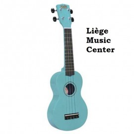 ukulele Korala licht blauw