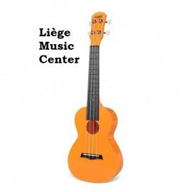 ukulele concert polycarbonate Korala oranje