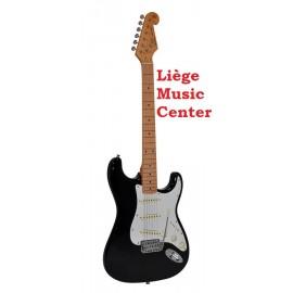 guitare électrique SX vintage noir