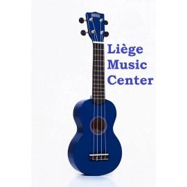 ukulele soprano Mahalo blauw