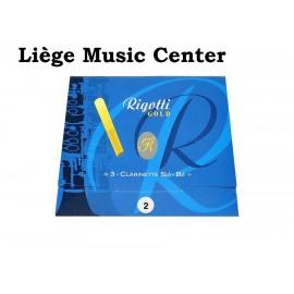 rieten bes Klarinet Rigotti Gold (2)