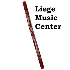 didgeridoo bambou gravé ou Pyrogravé Roots