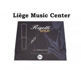 rieten sopraansaxofoon Rigotti Gold (2,5)