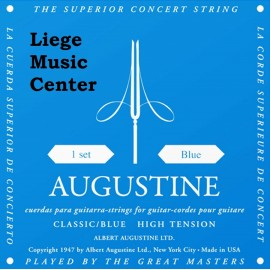 Kozertgitarren Saiten Set Augustine blue