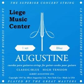 snarenset klassieke gitaar Augustine bleu