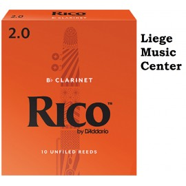 anches clarinette Sib Rico (force 2)