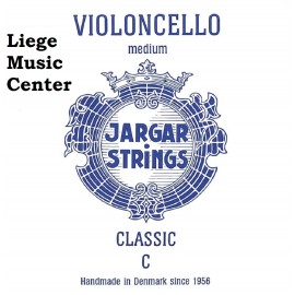 corde violoncelle DO Jargar classic bleu medium