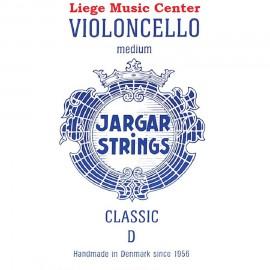 cellosnaar D Jargar classic blue medium