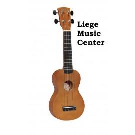 sopraan ukulele Korala bruin