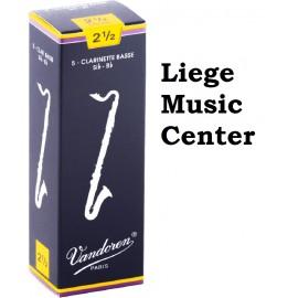 anches clarinette basse Vandoren (force 2,5)