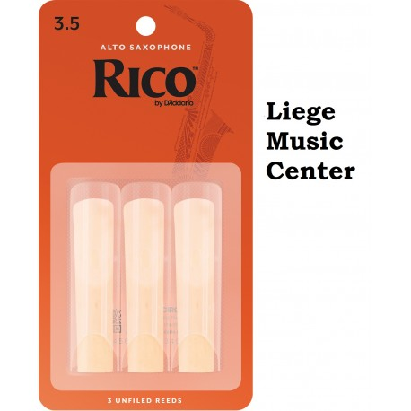 anches saxophone alto Rico (force 3,5)