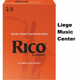 anches saxophone baryton Rico (force 2,5)