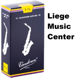 anches saxophone alto Vandoren (force 1,5)
