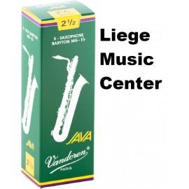 anches saxophone bariton Vandoren Java (2,5)