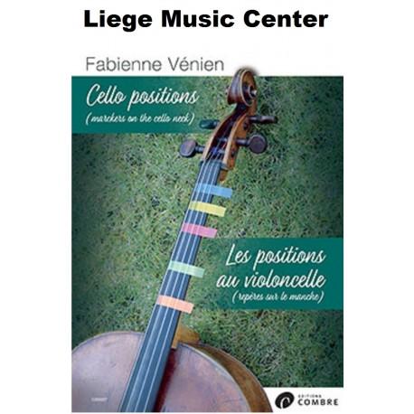 les positions au violoncelle Venien Fabienne