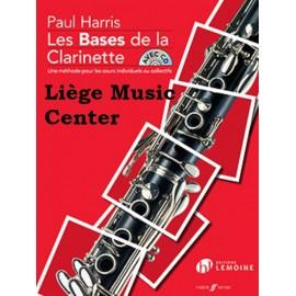 Les bases de la clarinette Harris livre/CD
